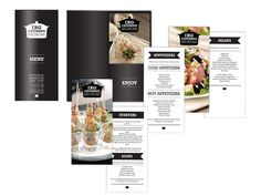 IRG Catering Identity by Amy Emam, via Behance