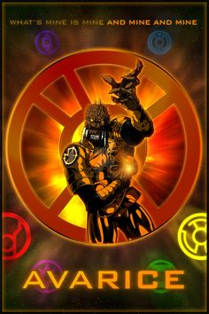 The Lantern Corps - Orange Lantern by KPants on DeviantArt