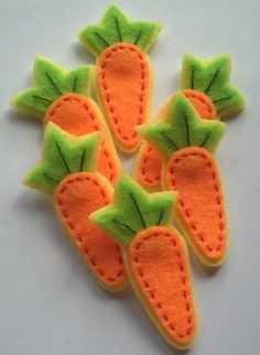 cute carrots for a garden page or a c page