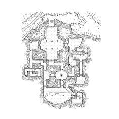 Dungeon 7, #rpg , #map, kosmic dungeon