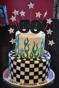 This is going to be Scott's cake for the Big 50......in October