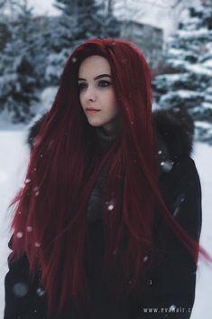 EvaHair Hot seller of the The reddish brown hair color - rote Frisuren Reddish Brown Hair Color, Hair Color Dark, Cool Hair Color, Brown Hair Colors, Vivid Hair Color, Red Hair Inspo, Eva Hair, Dyed Red Hair, Red Hair Streaks