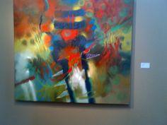 árbol rojo Painting, Art, Exhibitions, Red, Colors, Painting Art, Paintings, Kunst, Paint