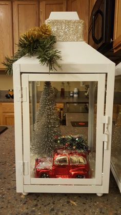 #christmasdecorations #christmas #diy #lantern #decorations #decor #holidays #tree #car #snow #trees #crafts