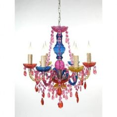 I really want this! Chandelier, Room Decor, Ceiling Lights, Create, Fun, Home, Girls, Design, Candelabra