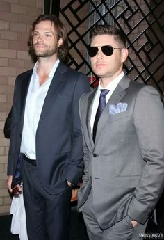 Jared Padalecki and Jensen Ackles ❤ ❤ CW Upfronts 2017 #Supernatural #J2
