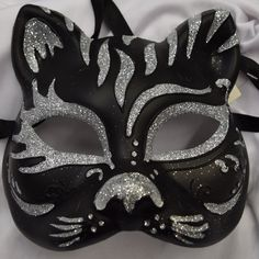 Cat Style Masquerade Mask