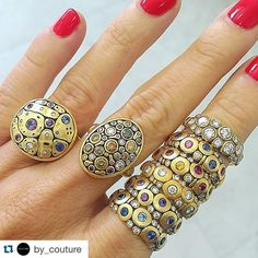 IntoxicTing. #Repost @by_couture  Decisions Decisions... #alexsepkus #couturedailydose #showyourcouture @for_future_reference.  I'm in a #JewelryStateofMind #jewelersresource.com by cindyedelstein