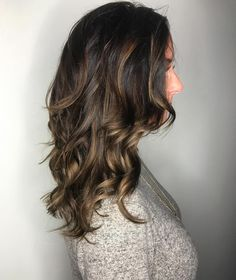 awesome 65 Phenomenal Dark Hair with Highlights - Flattering Streaks for Your Dark Mane Check more at http://newaylook.com/best-dark-hair-with-highlights-ideas/