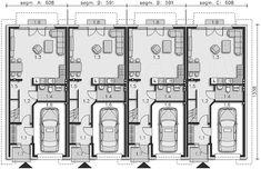 Projekt domu Edmonton DCS15 131,47 m2 - koszt budowy 216 tys. zł - EXTRADOM Hotel Floor Plan, Small Cabins, Modern Houses, House Plans, Sweet Home, Floor Plans, House Design, How To Plan, Ideas