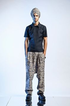 Jean Paul Gaultier Adopts an Eastern Philosophy for Spring/Summer 2013
