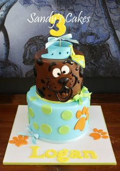 Scooby Doo Cake by Sandy's Cake