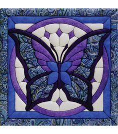 "Butterfly Quilt Magic Kit-12""X12""Butterfly Quilt Magic Kit-12""X12"","