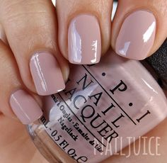 Nail Juice: OPI My Very First Knockwurst