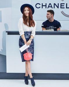 17 Photos of Park Shin Hye at the 2016 Chanel Fashion Show