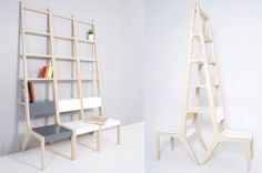 Korean industrial designer Seung-Yong Song has created these multifunctional furniture.