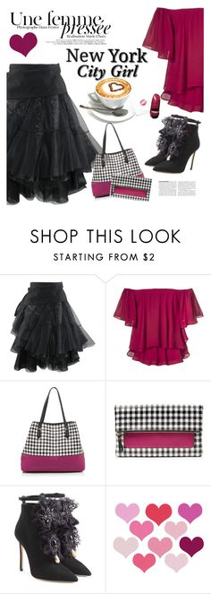 """""""New York City Girl"""" by clotheshawg ❤ liked on Polyvore featuring Diane Von Furstenberg and Dsquared2"""