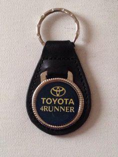 Stylish  Limited Supply Black Leather TOYOTA TUNDRA Laser Cut keyring key chain