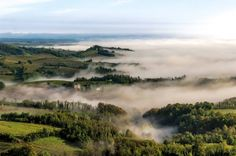 The hills of Strevi in the springtime, Acquese & Ovadese wine zone of Piemonte, Italy http://www.winepassitaly.it/index.php/en/travel-wineries-piedmont/maps-and-wine-zones/acquese-and-ovadese/focus/strevi