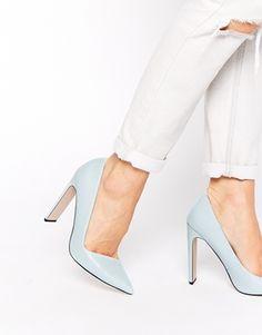 Vergrößern ASOS – PREFECTS – Spitze Schuhe mit hohem Absatz