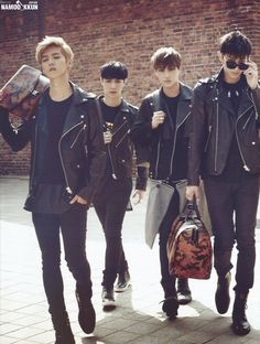 Luhan, Kai, Lay, Tao - Marie Claire Korea, October issue
