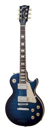 Amazon.com : Gibson USA LPTD14MMCH1LP Traditional 2014 Manhattan Midnight Solid-Body Electric Guitar : Musical Instruments