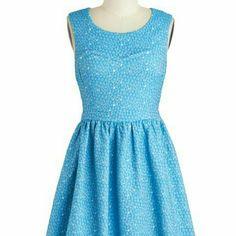 Pebble Yell Dress Modcloth Worn once, great mini dress ModCloth Dresses Mini