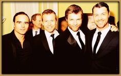 Some of the Handsome men of Spartacus! .. Dustin Clare .. Todd Lansance.. Liam McIntyre .. DanFeuerriegel