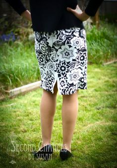 Second Chances by Susan: T-Shirt to Skirt Refashion