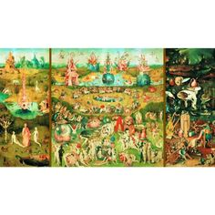Garden Of Earthly Delights - 9000 Piece Jigsaw Puzzle from Jigsaw Puzzles Direct - Order today and Get Free Delivery