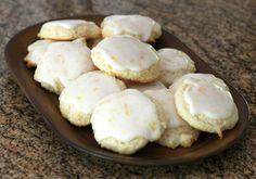 Lemon Cream Cheese Cookies - Recipe and Photo: Diana Rattray