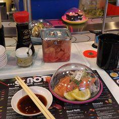 YO SUSHI! Found a decent Japanese restaurant in Buchanan street