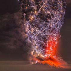 Calbuco Volcano...eruption 2015. what the....?