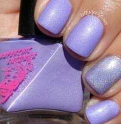 Synchronicity Nail Polish  Purple Grape  by WonderBeautyProducts
