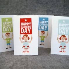 Father's Day cards. Cute