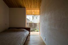 木の温もりを感じる平屋の一軒家 | homify | homify Modern Ranch, Fashion Room, Hostel, Tiny House, Minimalism, New Homes, Layout, Nakayama, Contemporary