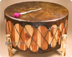 Native American Pow Wow Drums.