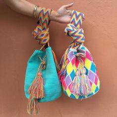 """""""Azul"""" Hand Woven Mochila Bag                                                                                                                                                                                 More"""