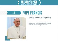 myhopeconnect - Fashola Pope Francis Japanese PM 97 Others Named As Top Global Thinkers 1.4.2014