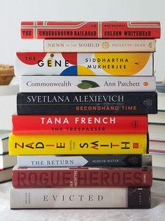Works by Zadie Smith, Colson Whitehead, Svetlana Alexievich, Tana French and more