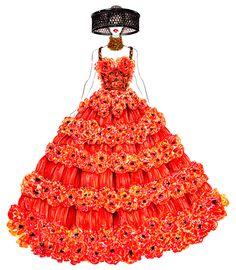 Alexander McQueen Spring 2013 RTW  - Sunny Gu #fashion #illustration #fashionillustration