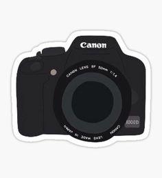 Canon Camera Sticker