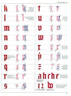 [шрифт] Текстура (Textura) | 42 фотографии