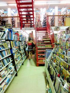 Newtown book store.