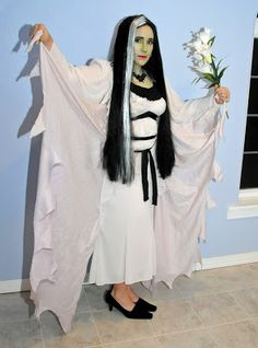 Lily Munster DIY costume Munsters family costumes