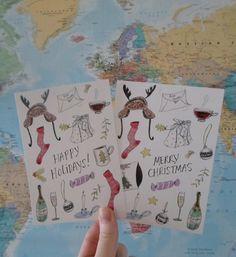 Cindy Mangomini christmas cards available on Etsy https://www.etsy.com/uk/shop/Mangomini