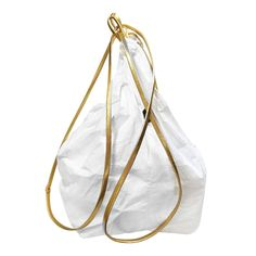 """Beutel Bag gold Bucketbag Rucksack Tasche aus TYVEK® """"ELEGA"""" -puristisch -ästhetisches Design -superleicht -tragbar als Rucksack, Beutel,..."""