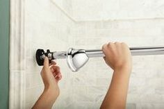 Moen Has Introduced A Curved Shower Rod That S Tension Mounted So There No Need