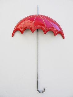 N-11 red  Ομπρέλα Umbrella     38x60cm
