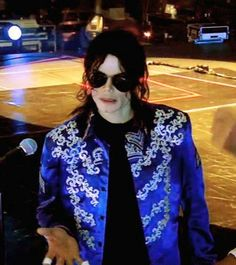 """One of the last photos taken of MJ when he was alive. He was at his rehearsal for the """"This is It """" tour. R.I.P. kind, loving, very misunderstood person."""